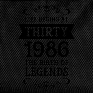 Life Begins At Thirty - 1986 The Birth Of Legends Tee shirts - Sac à dos Enfant
