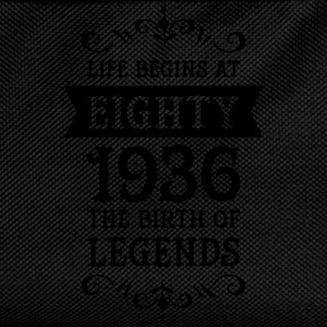 Life Begins At Eighty - 1936 The Birth Of Legends Tazas y accesorios - Mochila infantil