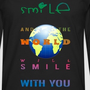 Smile - Men's Premium Longsleeve Shirt