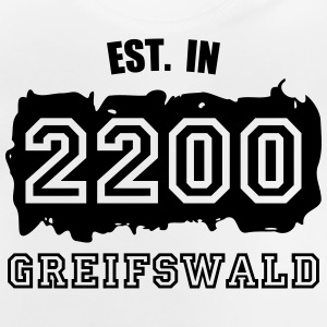 Established 2200 Greifswald Langarmshirts - Baby T-Shirt