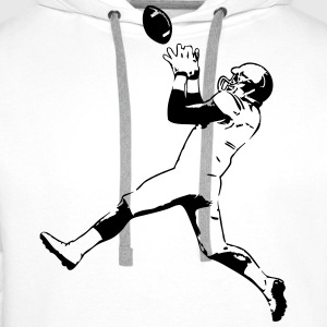 American Football - Rugby T-Shirts - Männer Premium Hoodie