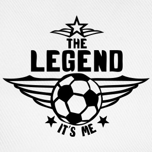 football legend  its me logo Shirts - Baseball Cap