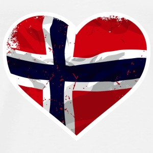 Norway Love Tops - Männer Premium T-Shirt