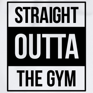 straight outta the gym T-Shirts - Turnbeutel