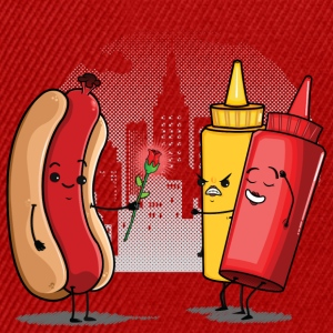 Hot Dog Love Ketchup Tee shirts - Casquette snapback
