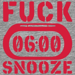 clock fuck snooze Tops - Men's Premium T-Shirt