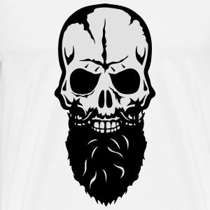 skull  beard 25 Hoodies & Sweatshirts - Men's Premium T-Shirt