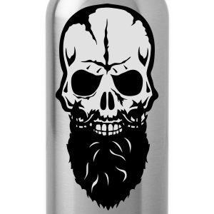 skull  beard 25 T-Shirts - Water Bottle
