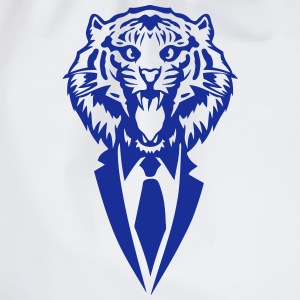 tiger tie costume suit T-Shirts - Drawstring Bag