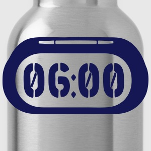 clock 600 2502 T-Shirts - Water Bottle