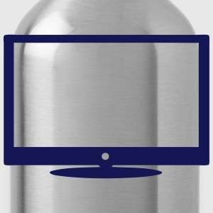 TV in 2402 icon Langarmshirts - Trinkflasche
