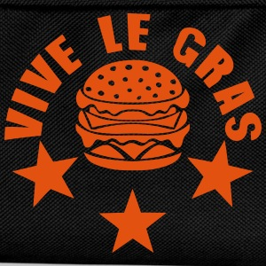 vive le gras hamburger 0 Tabliers - Sac à dos Enfant