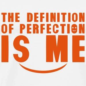 definition of perfection is me citation Schürzen - Männer Premium T-Shirt