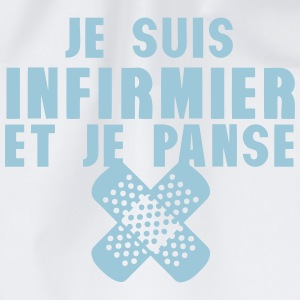 infirmier et panse pansement citation Sweat-shirts - Sac de sport léger
