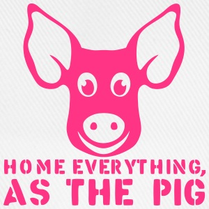 home everything as the pig citation Sweat-shirts - Casquette classique