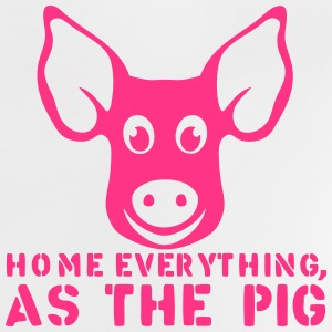 home everything as the pig citation T-Shirts - Baby T-Shirt