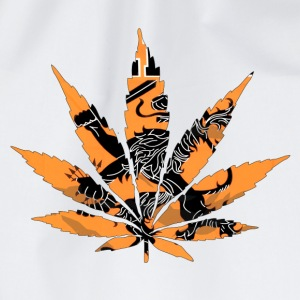 Cannabis Orange Holland Flag T-Shirts - Turnbeutel