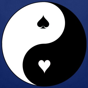 Yin Yang Poker Tee shirts - Tote Bag
