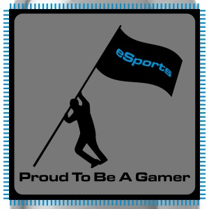 Proud To Be A Gamer - eSports - Trinkflasche