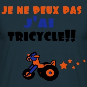 j'ai tricycle Tabliers - T-shirt Homme