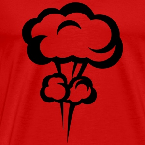Explosion mushroom nuclear drawing 33 Long Sleeve Shirts - Men's Premium T-Shirt