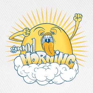 Yellow Not a morning person T-Shirts - Baseball Cap