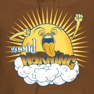 Yellow Not a morning person T-Shirts - Women's Premium Hoodie