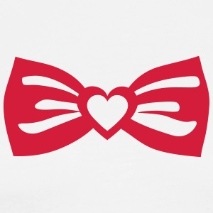 bow tie butterfly heart love 0 Long Sleeve Shirts - Men's Premium T-Shirt