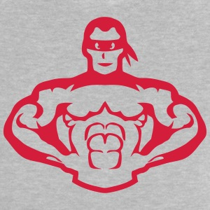 Bodybuilder mask muscular hero 5 Shirts - Baby T-Shirt