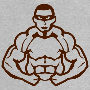Bodybuilder mask heros muscle muscular Shirts - Baby T-Shirt