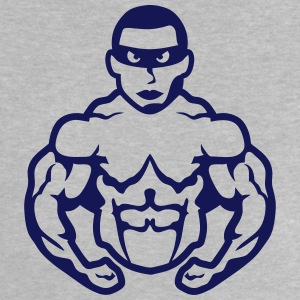 Bodybuilder mask heros muscle muscular 9 Shirts - Baby T-Shirt