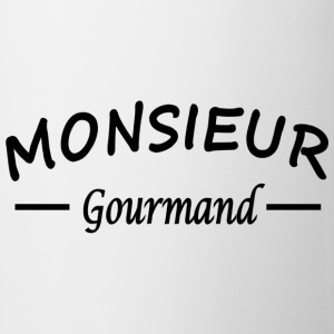 monsieur gourrmand Tabliers - Tasse