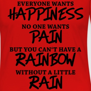 Everyone wants happiness T-shirts - Vrouwen Premium shirt met lange mouwen