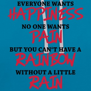 Everyone wants happiness Tee shirts - Sweat-shirt contraste