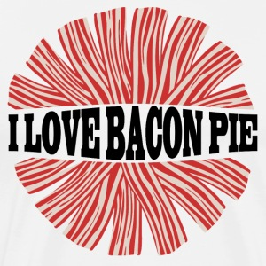 I LOVE BACON PIE - Männer Premium T-Shirt