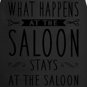What happens at the saloon stays there T-Shirts - Kochschürze