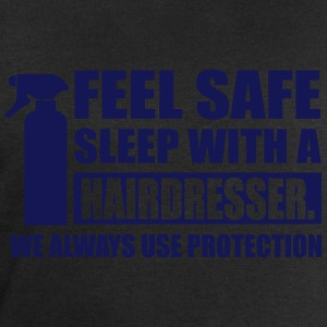 Feel safe sleep with a hairdresser T-Shirts - Men's Sweatshirt by Stanley & Stella