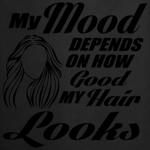 My mood depends on my hair Toppe - Forklæde