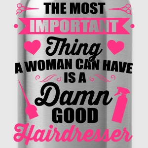 Most important is a good hairdresser T-shirts - Drinkfles