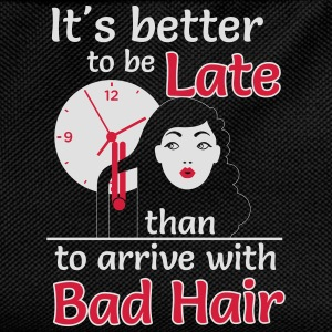 Better to late than bad hair T-skjorter - Ryggsekk for barn