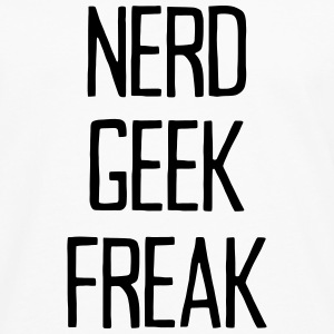 NERD GEEK FREAK Tops - Men's Premium Longsleeve Shirt