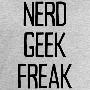 NERD GEEK FREAK T-Shirts - Men's Sweatshirt by Stanley & Stella