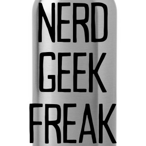 NERD GEEK FREAK T-shirts - Drinkfles