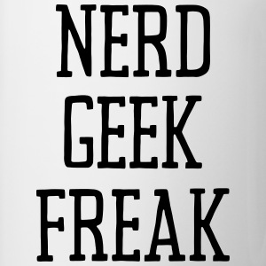 NERD GEEK FREAK Shirts - Mug