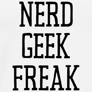 NERD GEEK FREAK Underwear - Men's Premium T-Shirt