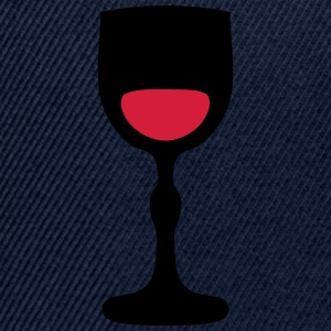 Wine glass _202 T-Shirts - Snapback Cap