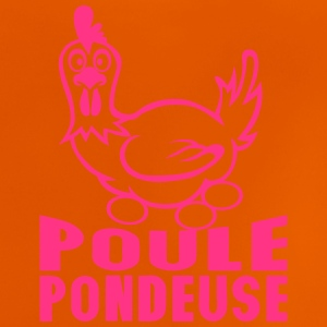 poule pondeuse oeufs citation expression Tee shirts - T-shirt Bébé