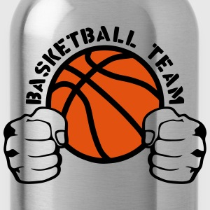 Basketball team fist closed hit logo T-Shirts - Water Bottle