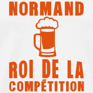 normand roi competition alcool  Tabliers - T-shirt Premium Homme