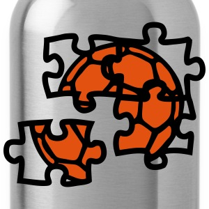 Handball ballon puzzle 2901 T-Shirts - Water Bottle